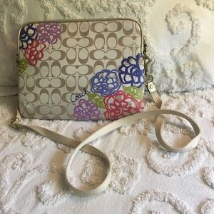 Coach Tablet Purse with crossbody strap